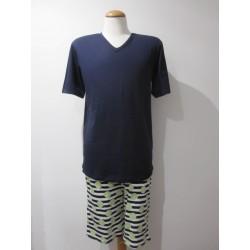 Pijama corto de Algodón de...