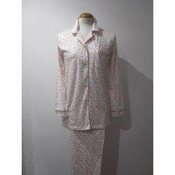 Pijama Largo De Señora De...