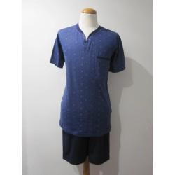 Pijama En Punto De Algodón...